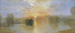 The Lake, Petworth, Sunset