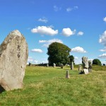 ancient menhirs